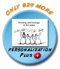 Personalization Plus- Only $29 More